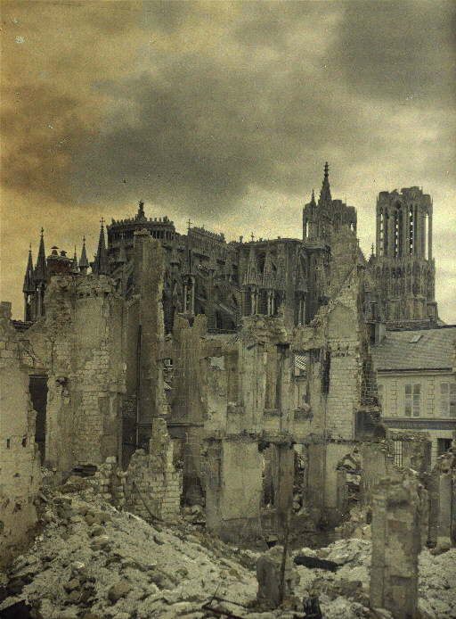 Reims 1918, Image in the Public Domain