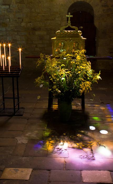 Reliquary, Église Abbatiale Saint-Pierre, Beaulieu-sur-Dordogne (Corrèze)  Photo by Dennis Aubrey