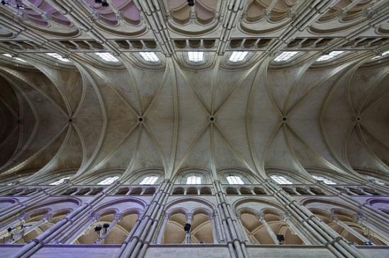 Sexpartite vaulting at Cathédrale Notre Dame de Laon