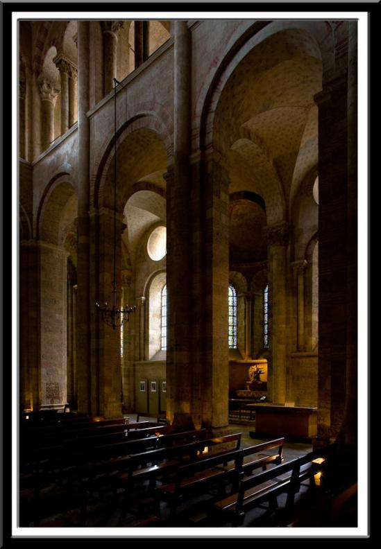 Basilique Saint Sernin, Toulouse (Haute-Garonne)  Photo by Dennis Aubrey