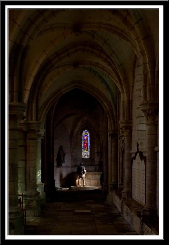 Eglise Saint Pere, Saint Pere-sous-Vézelay (Yonne)  Photo by Dennis Aubrey