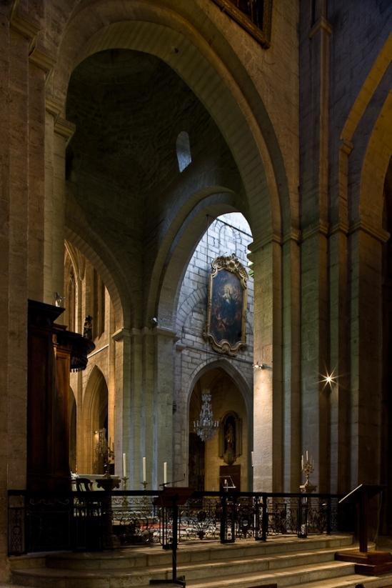 Chancel of Cathédrale Saint-Trophime (Photo by PJ McKey)
