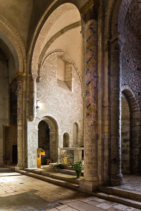 Altar, Église Saint Pierre de Carennac  (Photo by PJ McKey)