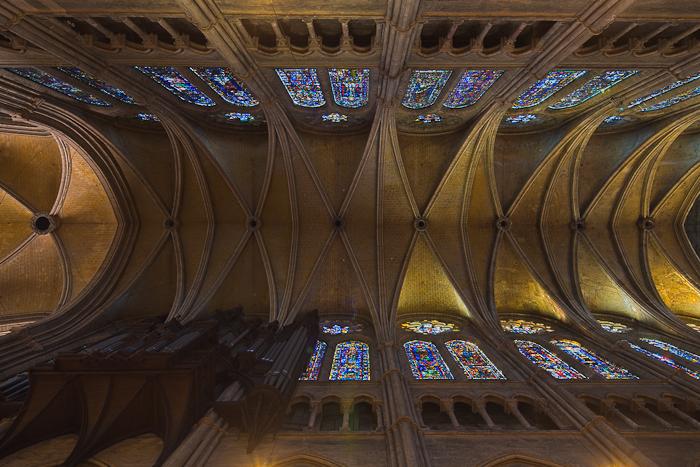 Chartres vault 1   Via Lucis Photography
