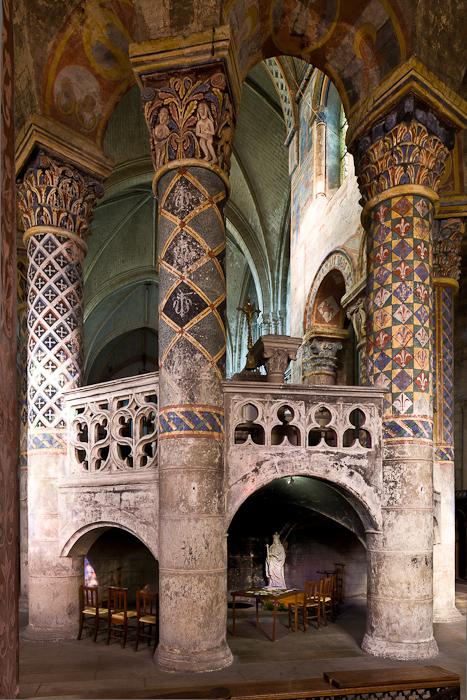 Sainte radegonde of poitiers and her church dennis aubrey for Vienne poitiers