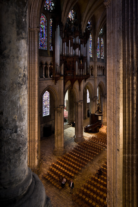 View from the tribunes, Notre Dame de Chartres (Eure)  Photo by PJ McKey
