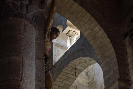 Église Notre-Dame de Saint-Saturnin, Saint-Saturnin (Puy-de-Dôme)  Photo by Dennis Aubrey