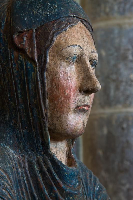 Notre Dame d'Heume, Heume l'Eglise (Puy-de-Dôme)  Photo by Dennis Aubrey