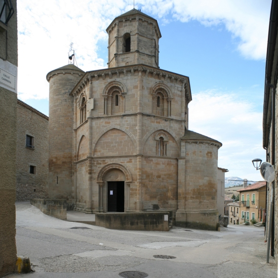 La Iglesia del Santo Sepulcro, Torres del Rio (Navarra), View from south   Photo by Jong-Soung Kimm