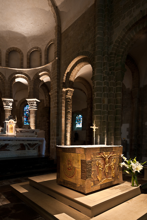 Abbaye Saint Gildas-de-Rhuys, Saint Gildas-de-Rhuys (Morbihan)  Photo by PJ McKey