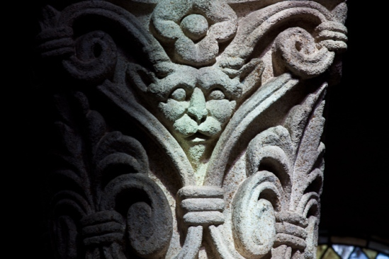 Demon Capital, Église Saint Menoux, Saint Menoux (Allier)  Photo by Dennis Aubrey