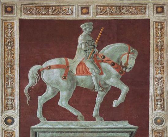 Fresco of John Hawkwood, Duomo, Firenze