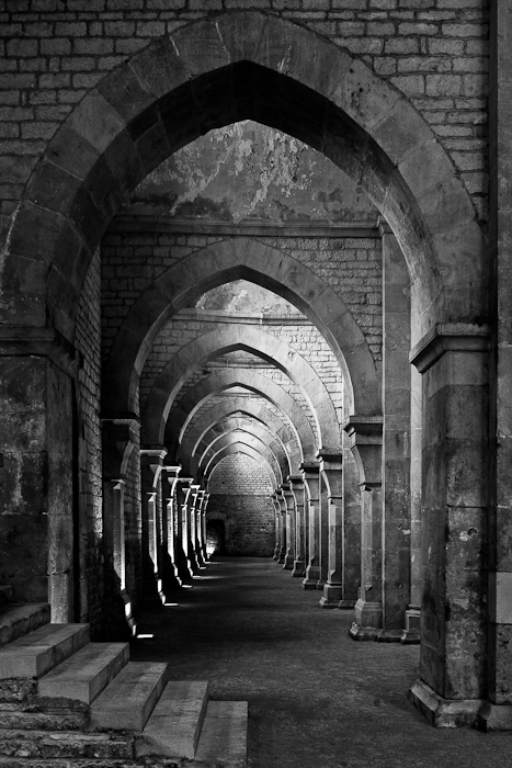 Abbaye Notre Dame de Fontenay, Fontenay  (Côte-d'Or)  Photo by Dennis Aubrey