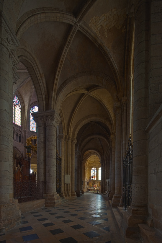 Cathédrale Saint-Étienne de Sens (Yonne)  Photo by Dennis Aubrey