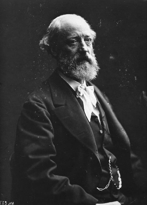 Eugène Emmanuel Viollet-le-Duc (1814 – 1879)  Photo by Félix Nadar