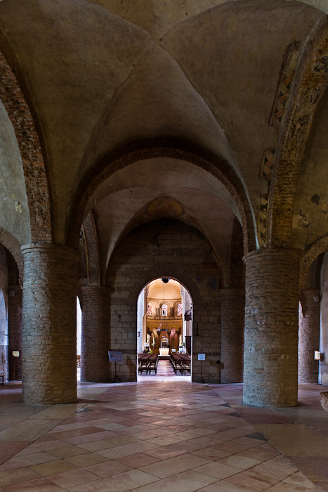 Narthex, Basilique Saint Philibert de Tournus, Tournus (Saône-et-Loire)  Photo by PJ McKey