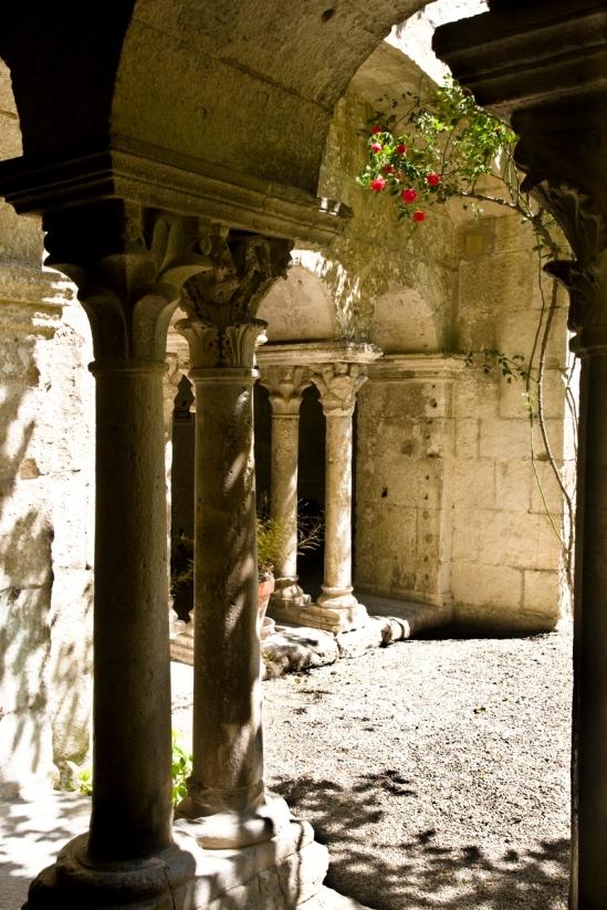 Cloister, Saint Paul de Mausole, Saint-Rémy-de-Provence (Bouches-du-Rhône)   Photo by PJ McKey