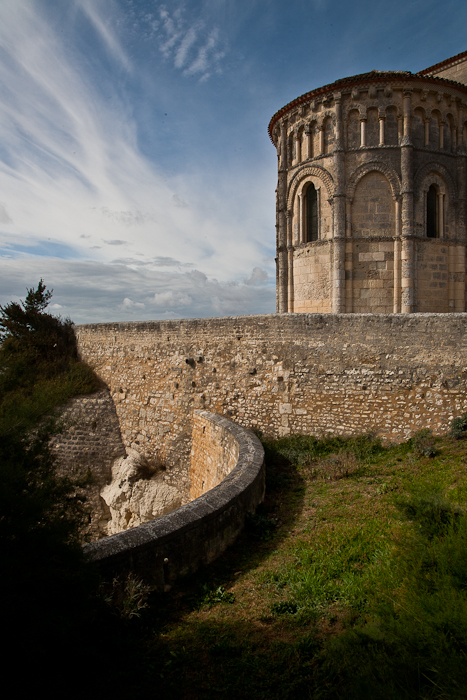 Exterior bastide fortification, Église Sainte Radegonde, Talmont (Charente-Maritime)  Photo by PJ McKey