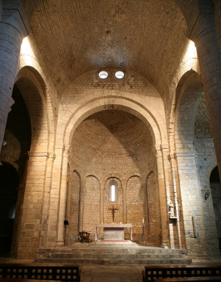Apse, Monasterio Santa Maria de Vilabertran (Girona)  Photo by Jong-Soung Kimm