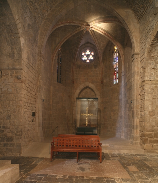 North transept, Monasterio Santa Maria de Vilabertran (Girona)  Photo by Jong-Soung Kimm