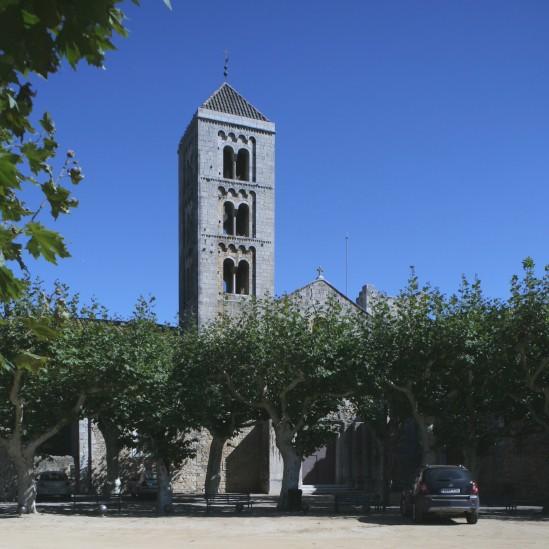 Campanile,  Monasterio Santa Maria de Vilabertran (Girona)  Photo by Jong-Soung Kimm