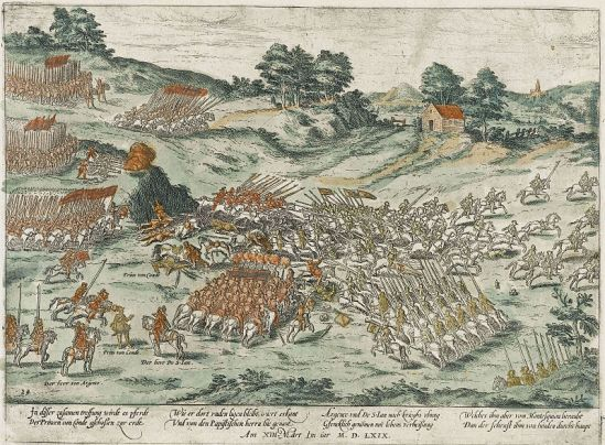 Battle of Jarnac (This image (or other media file) is in the public domain because its copyright has expired.)