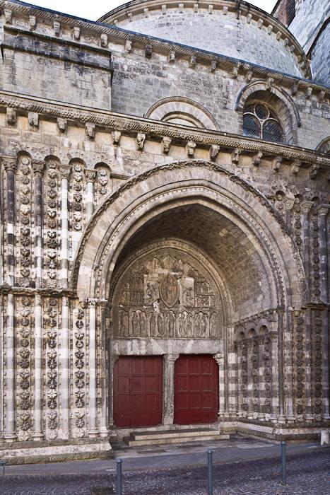 North portal, Cathédrale Saint Etienne, Cahors (Lot)  Photo by PJ McKey