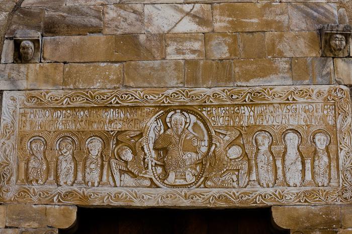 Eglise à Saint-Génis-des-Fontaines, Saint-Génis-des-Fontaines (Pyrénées-Orientales)  Photo by Dennis Aubrey