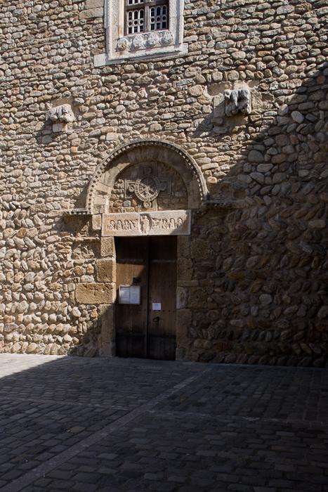 Saint-André-de-Sorede, Sorede (Pyrénées-Orientales)  Photo by Dennis Aubrey
