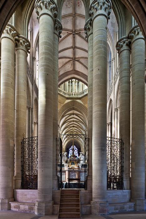 Cathédrale Notre Dame de Coutances, Coutances (Manche)  Photo by PJ McKey