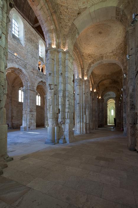 South side aisle, Abbatiale Notre Dame de Bernay, Bernay (Eure) Photo by Dennis Aubrey