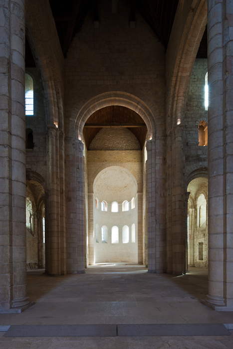 Apses, Abbatiale Notre Dame de Bernay, Bernay (Eure) Photo by Dennis Aubrey