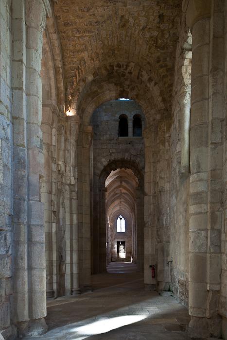 North side aisle, Abbatiale Notre Dame de Bernay, Bernay (Eure) Photo by PJ McKey