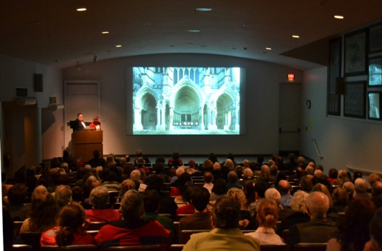 PJ and Dennis presenting at Harvard (Photo by Marci Tyldesley)