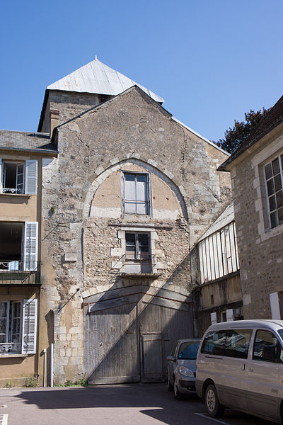 Église Saint Martin-du-Bourg, Avallon (Yonne), Photo cc Fanny Schertzer (Creative Commons Attribution-ShareAlike 2.5)