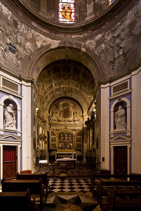 Altar with Reliquaries, Chapelle Sainte Anne, Basilique Saint-Anne d'Apt, Apt (Vaucluse)  Photo by Dennis Aubrey