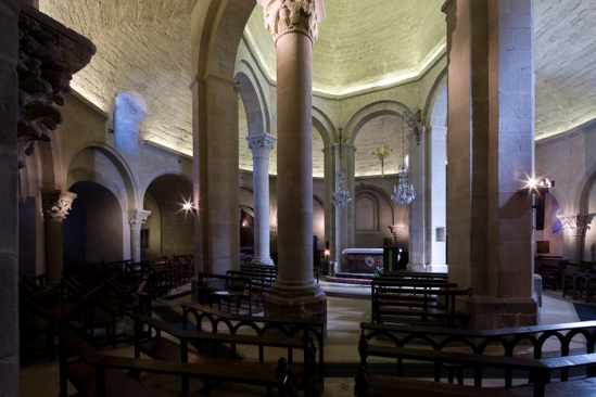 Église Sainte Marie, Rieux Minervois (Aude)  Photo by Dennis Aubrey