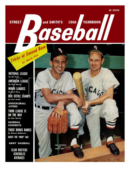 Luis Aparicio and Nellie Fox