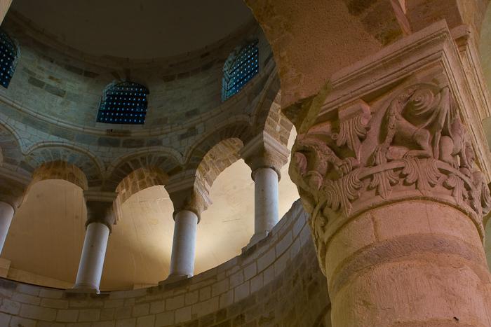Église Saint Etienne, Neuvy-Saint-Sépulchre (Indre)  Photo by Dennis Aubrey