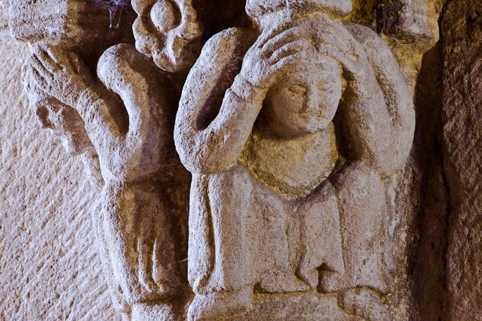 Capital, Église Notre-Dame, Bois-Sainte-Marie (Saône-et-Loire) Photo by Dennis Aubrey