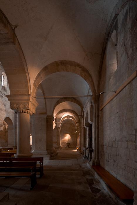 South side aisle, Eglise Saint Pierre et Saint Paul, Rosheim (Bas-Rhin)  Photo by Dennis Aubrey