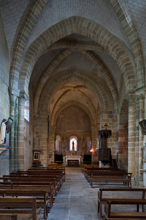 Apse, Notre Dame d'Agonges, Agonges (Allier) Photo by PJ McKey