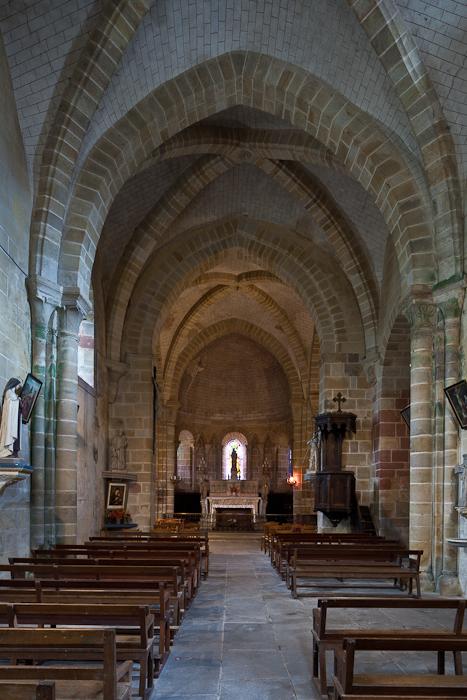Apse, Notre Dame d'Agonges, Agonges (Allier) Photo by PJ McKey