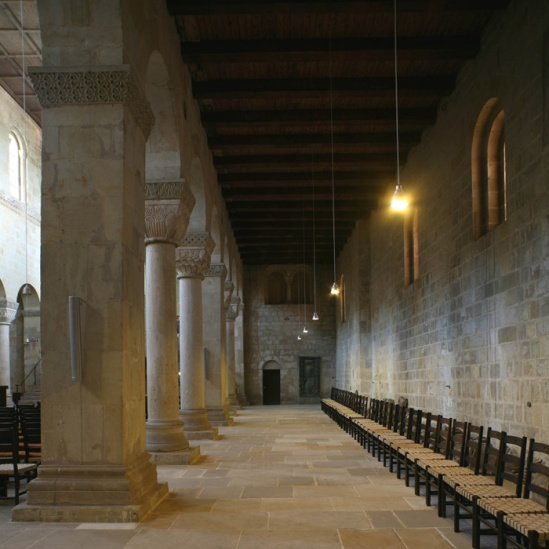 North side aisle, Abbey Church of St. Servatius, Quedlinburg (Saxon-Anhalt) Photo by Jong-Soung Kimm