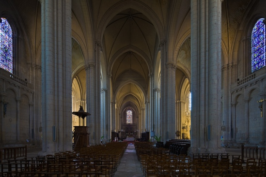 Cathédrale Saint Pierre, Poitiers (Vienne)  Photo by Dennis Aubrey