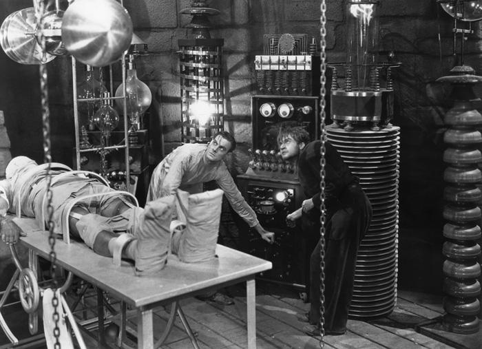 Clive Colin, Frankenstein (1931)