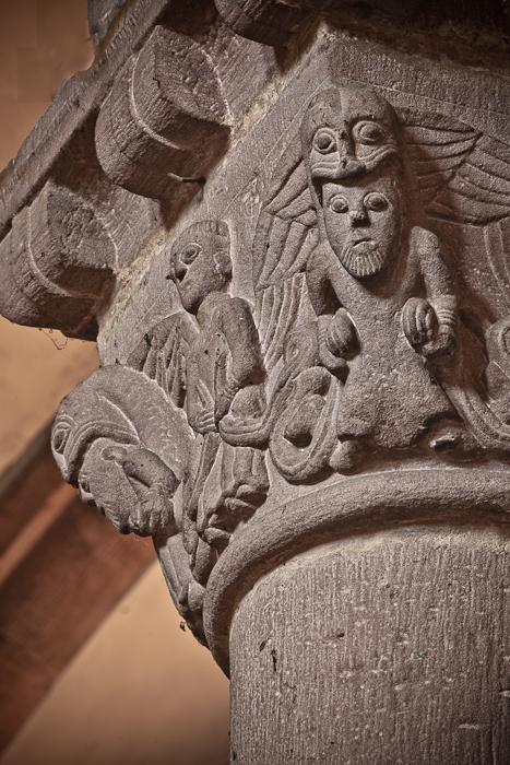Capital, Église Sainte Foy, Sélestat (Bas-Rhin) Photo by PJ McKey