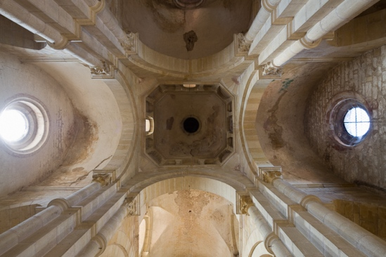 Crossing cupola, Église Saint Paul de Châteauneuf, Chateauneuf (Saône-et-Loire) Photo by Dennis Aubrey
