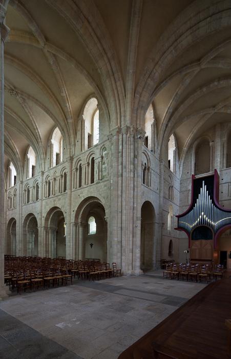 Crossing, Abbaye Sainte Trinité, Lessay  (Manche)  Photo by Dennis Aubrey