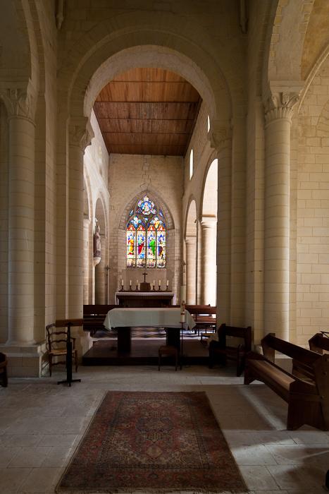 Apse, Église Saint-Sulpice, Secqueville-en-Bessin (Calvados) Photo by Dennis Aubrey